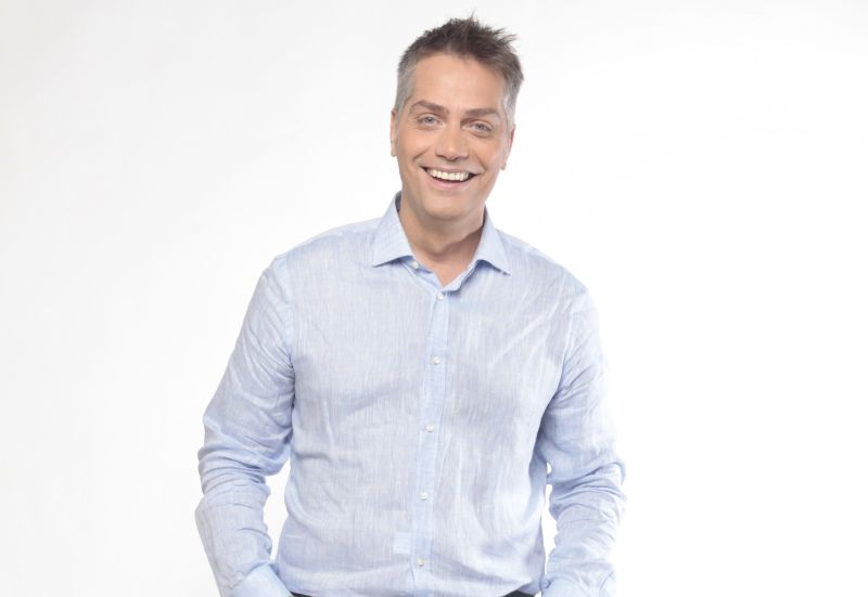 Harsányi Levente műsorvezető